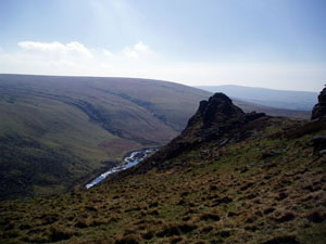 Photograph of Tavy Cleave by Paul Rendell